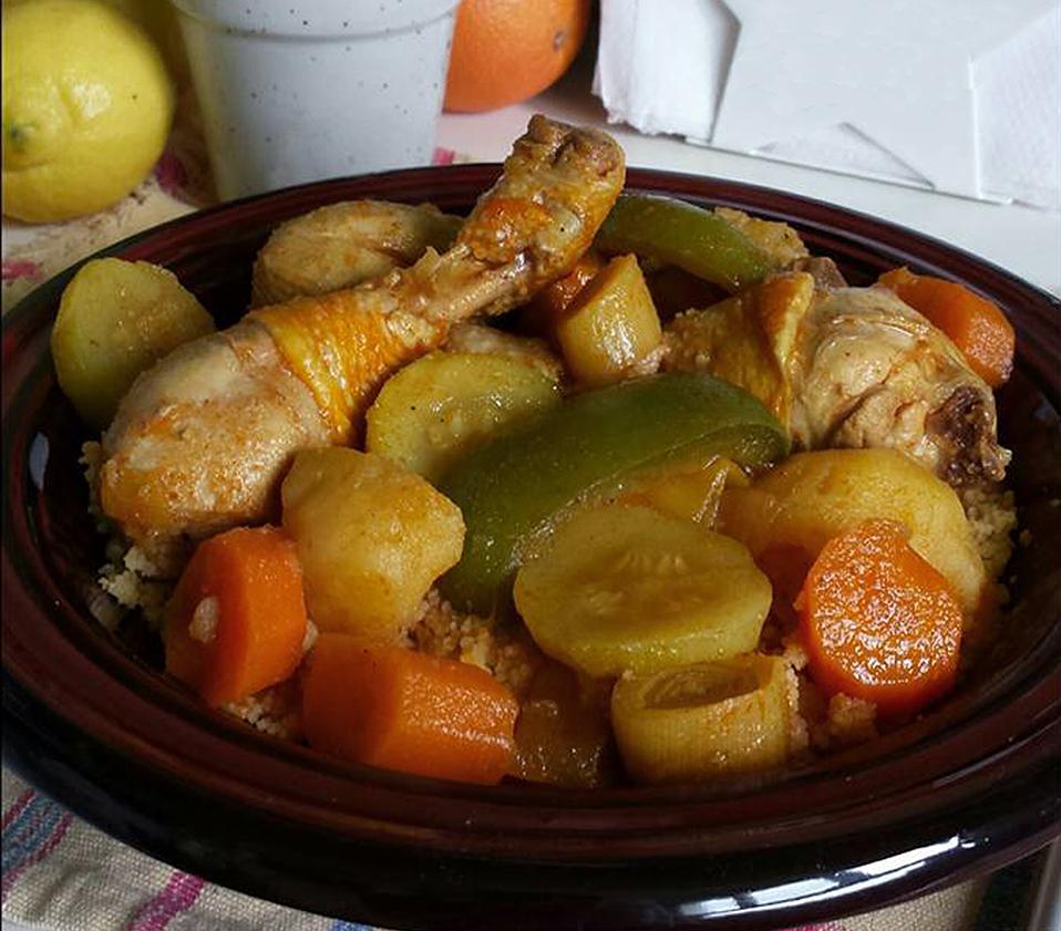 Couscous au poulet